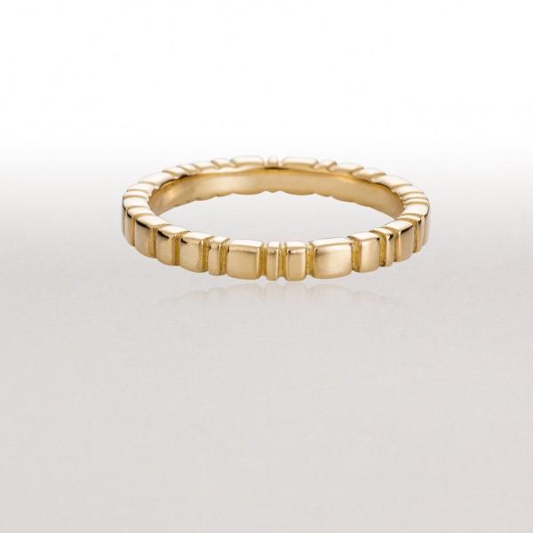 Medium PAVERS Ring in Gold