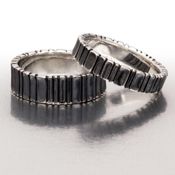 DEEP SCOOPS Ring Pair