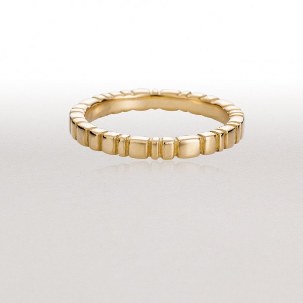 Medium PAVERS Ring in Gold