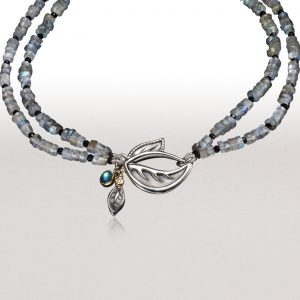PERFECT NECKLACE in Bright Silver